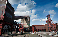 The Ruhrmuseum at the Zollverein Coal Mine Industrial Complex in Essen, redesigned by architects Rem Koolhaas and Heinrich Böll (Germany, 02/04/2010)