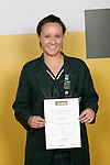 Girls Golf winner Larissa Eruera. ASB College Sport Young Sportperson of the Year Awards 2007 held at Eden Park on November 15th, 2007.