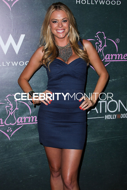 HOLLYWOOD, LOS ANGELES, CA, USA - AUGUST 28: AJ Almasi arrives at the Benchwarmer Back To School Celebration to Benefit Children of the Night held at Station Hollywood at the W Hotel Hollywood on August 28, 2014 in Hollywood, Los Angeles, California, United States. (Photo by Xavier Collin/Celebrity Monitor)