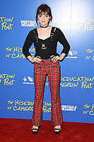 "Maisie Williams<br /> arriving for the premiere of ""The Miseducation of Cameron Post"" screening at Picturehouse Central, London<br /> <br /> ©Ash Knotek  D3424  22/08/2018"