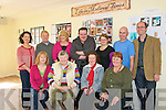 Life in Medieval Times: Participants in FETAC Level 5 Heritage & Culture class at Listowel Community Collage on Thursday during the Engage your Potential open day, who did research on life in Medieval times on local weapons,music, dress,property, religon and medicine & disease. Front : Maria Marshall, Catherine Enrigh-Ahern, Winifred Greaney & Margaret Hannon-Gleeson. Back: Matie Carroll, Pat Kavanagh, Veronica Cotter, Paddy O, Donnell, Claudia Kohler, Education officer, Kerry County Museum, Paddy O'Grady &  Dermot Waygh, Class Tutor.