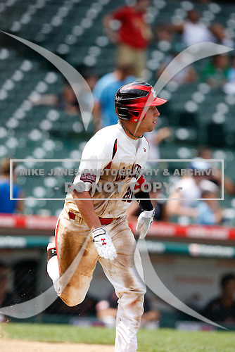 August 8, 2009:  Catcher Jacob Felts (20) of Team One during the Under Armour All-America event at Wrigley Field in Chicago, Illinois.  (Copyright Mike Janes Photography)
