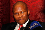DURBAN - 14 April 2016 - South Africa's chief justice, Judge Mogoeng Mogoeng speaks to the press after he delivered the delivers the 14th Victoria and Griffiths Mxenge Memorial lecture at the University of KwaZulu-Natal, where he lamented the country's citizens for their preoccupation of seeking personal wealth over the interests of the country. Picture: Allied Picture Press/APP