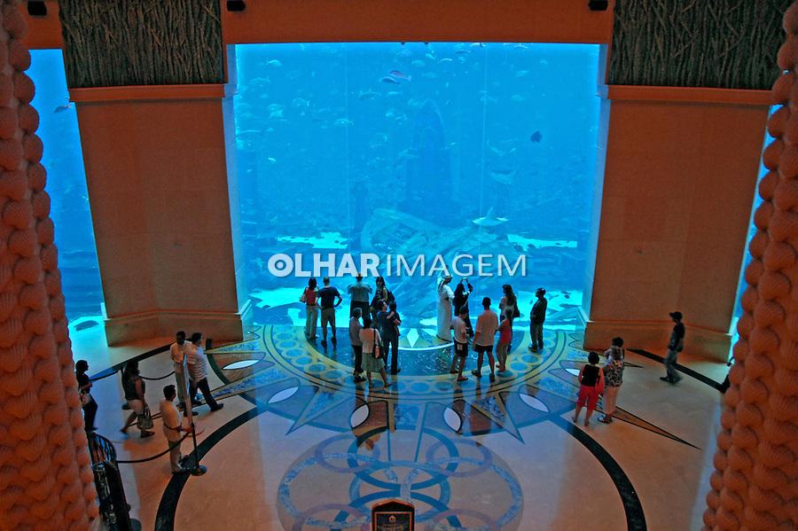 Aquario de hotel em Dubai. Emirados Arabes Unidos. 2009. Foto de Thaïs Falcão.