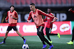 ATLANTA, GA - DECEMBER 07: Atlanta United FC's Miguel Almiron. The MLS Cup 2018 Team Training Sessions were held on December 7, 2018 at the Mercedes Benz Stadium in Atlanta, GA.