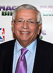 "David Stern.attending the Broadway Opening Night Performance After Party for ""Magic / Bird"" at the Edison Ballroom in New York City on April 11, 2012"