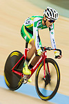 Leong Chi Son of Macau Cycling Team competes in the Omnium category during the Hong Kong Track Cycling Race 2017 Series 6 at Hong Kong Velodrome on 12 March 2017, in Hong Kong, China. Photo by Marcio Rodrigo Machado / Power Sport Images