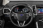 Car pictures of steering wheel view of a 2017 Ford Edge Sport-4wd 5 Door Suv Steering Wheel