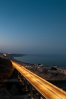 The new road Muscat to Sur