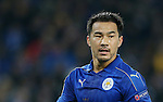 Leicester's Shinji Okazaki in action during the Champions League group B match at the King Power Stadium, Leicester. Picture date November 22nd, 2016 Pic David Klein/Sportimage