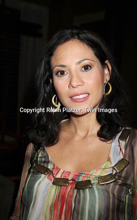 "Elizabeth Rodriguez..at he taping of the 10,000th episode of ""All My Children"" on October 16, 2008 at their studio. ....Robni Platzer, Twin Images"