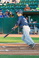 Steven Karkenny (31) of the Helena Brewers at bat against the Ogden Raptors in Pioneer League action at Lindquist Field on August 17, 2015 in Ogden, Utah.  Ogden defeated Helena 7-2.  (Stephen Smith/Four Seam Images)