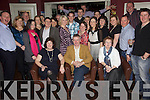 Birthday Boy - Con Murphy from St Brendan's Park (now living in Poland), seated centre having a wonderful time with family and friends at his 50th birthday party held in O'Donnell's of Mounthawk on Saturday night................................................................................................................................................................................................................................................................................ ............