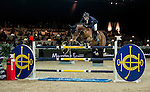 Olivier Philippaerts of Belgium riding Zandigo in action during the Longines Speed Challenge competition as part of the Longines Hong Kong Masters on 13 February 2015, at the Asia World Expo, outskirts Hong Kong, China. Photo by Li Man Yuen / Power Sport Images