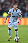 Kieran Trippier of Atletico Madrid during the UEFA Champions League match at Juventus Stadium, Turin. Picture date: 26th November 2019. Picture credit should read: Jonathan Moscrop/Sportimage
