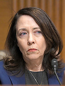 "United States Senator Maria Cantwell (Democrat of Washington) listens during the US Senate Committee on Finance ""Hearing to Consider the Graham-Cassidy-Heller-Johnson Proposal"" on the repeal and replace of the Affordable Care Act (ACA) also known as ""ObamaCare"" in Washington, DC on Monday, September 25, 2017.<br /> Credit: Ron Sachs / CNP"