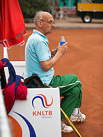 Netherlands, Amstelveen, August 18, 2015, Tennis,  National Veteran Championships, NVK, TV de Kegel,  Arno de Visser <br /> Photo: Tennisimages/Henk Koster