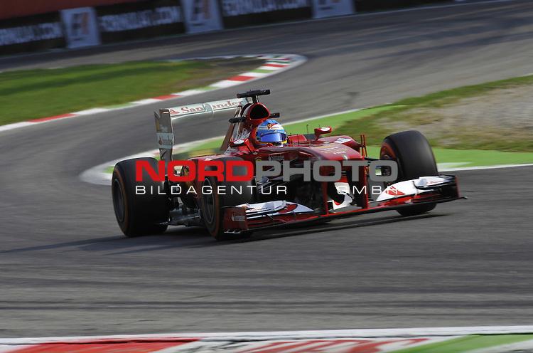 05.-08.09.2011, Autodromo Nationale, Monza, ITA, F1, Grosser Preis von Italien, Monza, im Bild  Fernando Alonso (ESP),  Scuderia Ferrari <br />  Foto &copy; nph / Mathis
