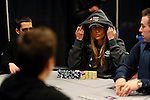 Team Pokerstars.net Pro Vanessa Rousso  is at the same table as Vanessa Selbst (left).