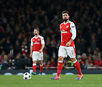 Arsenal's Olivier Giroud looks on dejected after PSG's opening goal during the Champions League group A match at the Emirates Stadium, London. Picture date November 23rd, 2016 Pic David Klein/Sportimage