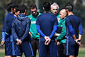 Soccer: Japan National Team Official Training camp