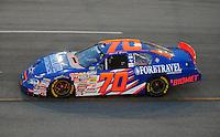 May 2, 2008; Richmond, VA, USA; NASCAR Nationwide Series driver Mark Green during the Lipton Tea 250 at the Richmond International Raceway. Mandatory Credit: Mark J. Rebilas-