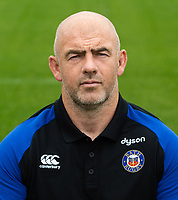 Allan Ryan of Bath Rugby poses for a portrait. Bath Rugby Media Day on August 14, 2018 at Farleigh House in Bath, England. Photo by: Patrick Khachfe / Onside Images