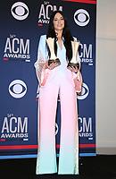 07 April 2019 - Las Vegas, NV - Kacey Musgraves. 54th Annual ACM Awards Press Room at MGM Grand Garden Arena. Photo Credit: MJT/AdMedia