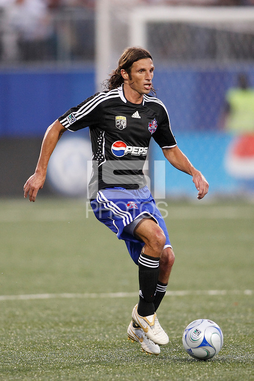 MLS All-Stars defender Frankie Hejduk (2). The MLS All-Stars defeated West Ham United 3-2 during the MLS All-Star Game at BMO Field in Toronto, Ontario, Canada, on July 24, 2008.