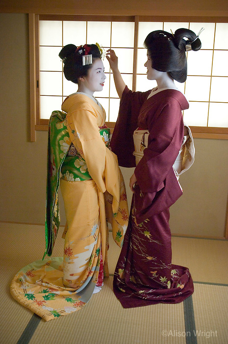 Maiko and Geisha