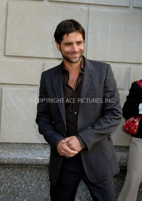 WWW.ACEPIXS.COM . . . . .  ....NEW YORK, MAY 17, 2006....John Stamos seen at his midtown hotel.....Please byline: BRETT KAFFEE-ACEPIXS.COM.... *** ***..Ace Pictures, Inc:  ..(212) 243-8787 or (646) 769 0430..e-mail: picturedesk@acepixs.com..web: http://www.acepixs.com