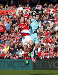 Grant Leadbetter of Middlesbrough in action with Robbie Brady of Burnley during the Premier League match at the Riverside Stadium, Middlesbrough. Picture date: April 8th, 2017. Pic credit should read: Jamie Tyerman/Sportimage