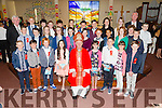 Pupils from Killahan NS and Abbeydorney NS after their confirmation in St Bernards Church, Abbeydorney by the Bishop of Kerry Ray Browne on Thursday