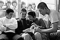 (L-R) Masumi Kuwata, Kazuhiro Kiyohara (PL Gakuen), OCTOBER 1983 - Baseball : National Sports Festival of Japan in Gunma, Japan. (Photo by Katsuro Okazawa/AFLO)83_10  KK