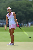 Lexi Thompson (USA) reacts to barey missing her birdie putt on 4 during round 3 of the 2019 US Women's Open, Charleston Country Club, Charleston, South Carolina,  USA. 6/1/2019.<br /> Picture: Golffile | Ken Murray<br /> <br /> All photo usage must carry mandatory copyright credit (© Golffile | Ken Murray)