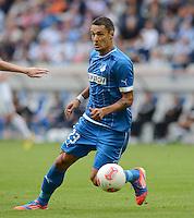 FUSSBALL  1. BUNDESLIGA  SAISON 2012/2013  2. SPIELTAG    01.09.2012 TSG 1899 Hoffenheim  - Eintracht Frankfurt Sejad Salihovic (TSG 1899 Hoffenheim) am Ball