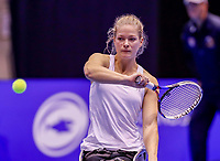 Rotterdam, Netherlands, December 15, 2017, Topsportcentrum, Ned. Loterij NK Tennis, Wheelchair woman's single semi final Diede de Groot (NED)<br /> Photo: Tennisimages/Henk Koster