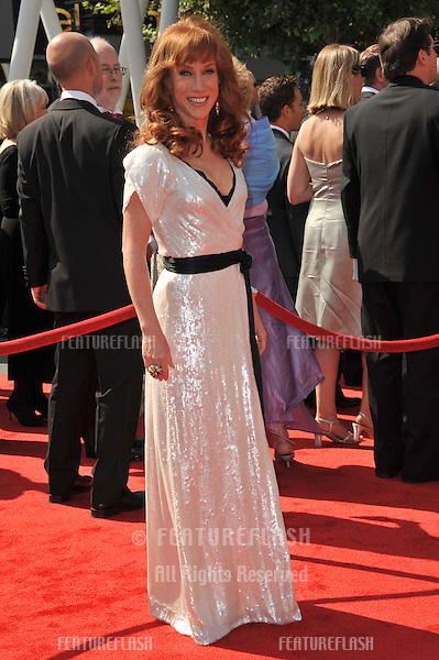 Kathy Griffin at the 2011 Primetime Creative Arts Emmy Awards at the Nokia Theatre L.A. Live..September 10, 2011  Los Angeles, CA.Picture: Paul Smith / Featureflash
