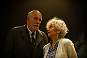 London, UK. 02.10.2012. A LIFE, by Hugh Leonard, directed by Eleanor Rhode, opens at the Finborough Theatre. Picture shows: Hugh Ross (Drumm) and Kate Binchy (Mary). Photo credit: Jane Hobson