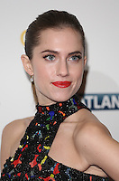 Allison Williams arriving for the Girls - UK premiere of the third series held at the Cineworld Haymarket - Arrivals, London. 15/01/2014 Picture by: Henry Harris / Featureflash