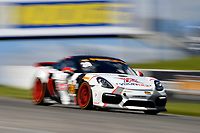 IMSA Continental Tire SportsCar Challenge<br /> Mobil 1 SportsCar Grand Prix<br /> Canadian Tire Motorsport Park<br /> Bowmanville, ON CAN<br /> Saturday 8 July 2017<br /> 28, Porsche, Porsche Cayman GT4, GS, Dylan Murcott, Dillon Machavern<br /> World Copyright: Scott R LePage/LAT Images