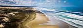 Ninety Mile Beach & Matapia Island, Far North.