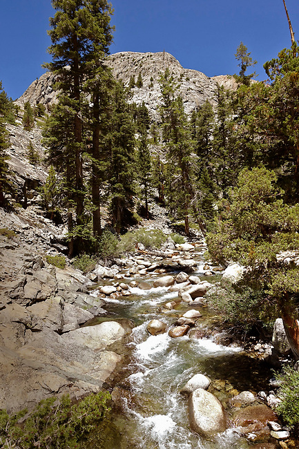 Piute Creek along border of Kings Canyon National Park