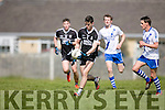 Ardfert's Trevor Wallace and St. Mary's Daniel O'Sullivan  at the Intermediate Club Football Championship 2016 Ardfert Football Club vs St Mary's at  Ardfert GAA on Saturday