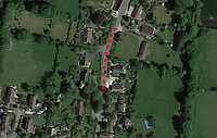 BNPS.co.uk (01202 558833)<br /> Pic: GoogleMaps<br /> <br /> The road closure marked out in red Godmanstone.<br /> <br /> Motorists have hit out at a 'crazy' local council after it announced a 41 mile diversion around a 65ft stretch of roadworks.<br /> <br /> A small section of the A352 in Godmanstone, Dorset will be closed between Monday and Friday next week for work on a sewage system.<br /> <br /> Just over 65ft of the carriageway will be closed off by workmen but Dorset County Council have given an official diversion measuring an incredible 41 miles.
