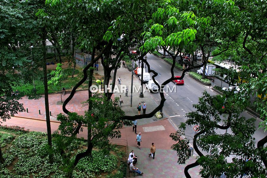 Praça Dom José Gaspar e Avenida São Luis. São Paulo. 2010. Foto de Juca Martins.