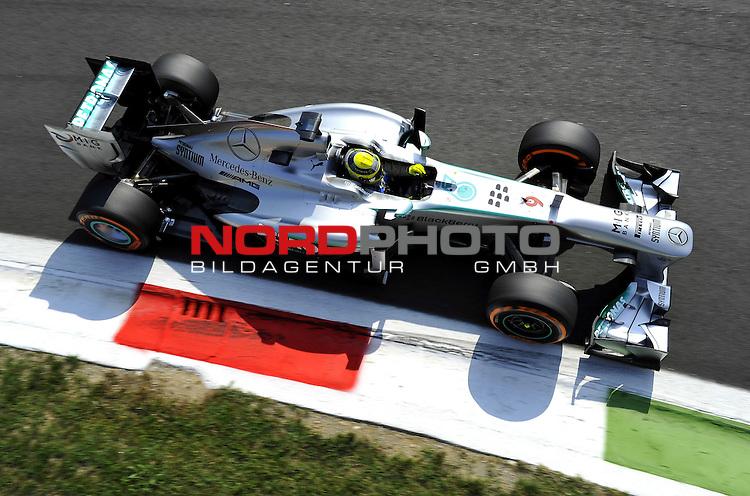 05.-08.09.2011, Autodromo Nationale, Monza, ITA, F1, Grosser Preis von Italien, Monza, im Bild Nico Rosberg (GER), Mercedes GP <br />  Foto &copy; nph / Mathis