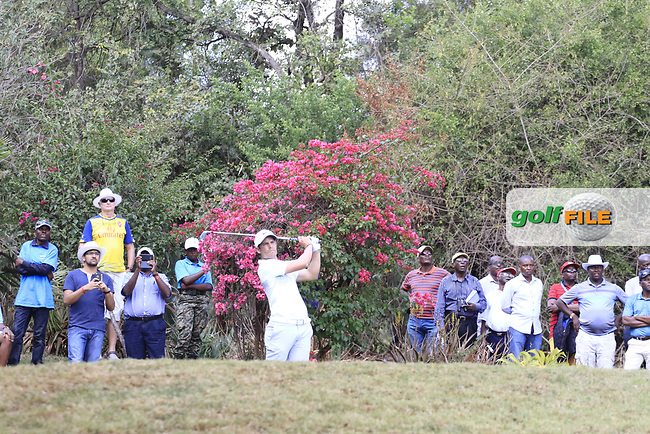 Adrien Saddier (FRA) during the third round of the of the Barclays Kenya Open played at Muthaiga Golf Club, Nairobi,  23-26 March 2017 (Picture Credit / Phil Inglis) 25/03/2017<br /> Picture: Golffile | Phil Inglis<br /> <br /> <br /> All photo usage must carry mandatory copyright credit (&copy; Golffile | Phil Inglis)