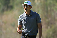 Haotong Li (CHN) during the final round of the Turkish Airlines Open, Montgomerie Maxx Royal Golf Club, Belek, Turkey. 10/11/2019<br /> Picture: Golffile | Phil INGLIS<br /> <br /> <br /> All photo usage must carry mandatory copyright credit (© Golffile | Phil INGLIS)