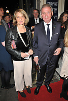 Mona Juul and Terje Rod-Larsen at the Oslo gala night, Harold Pinter Theatre, Panton Street, London, England, UK, on Wednesday 11 October 2017.<br /> CAP/CAN<br /> &copy;CAN/Capital Pictures